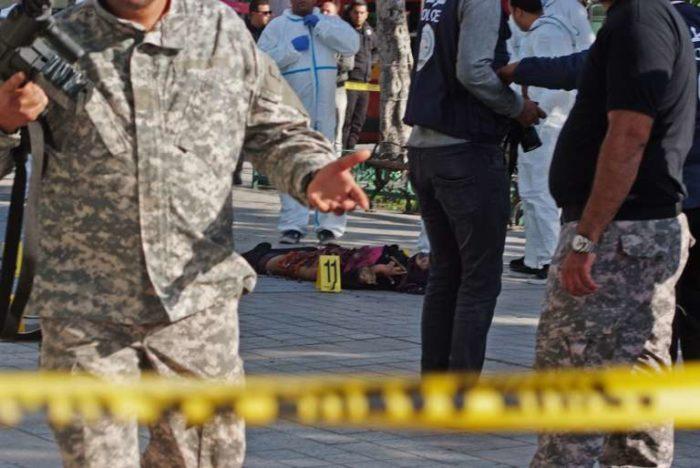 Une femme se fait exploser au centre de ville de Tunis