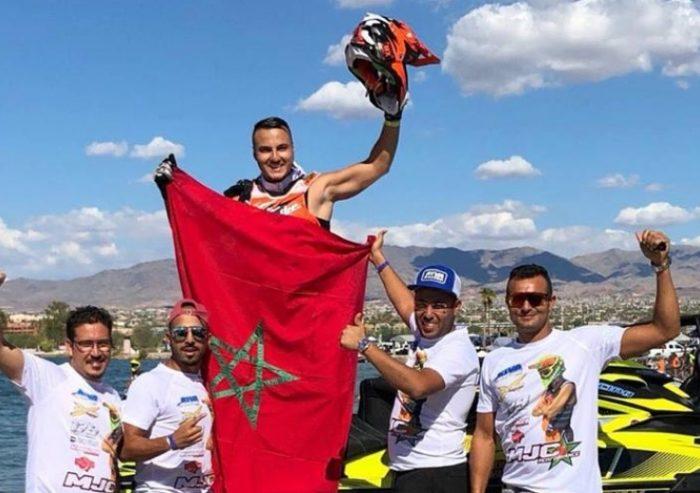 Le titre de champion du monde de jet-ski, un stimulant pour plus de travail et plus de titres