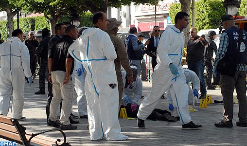 Neuf blessés dans un attentat suicide au centre ville de Tunis
