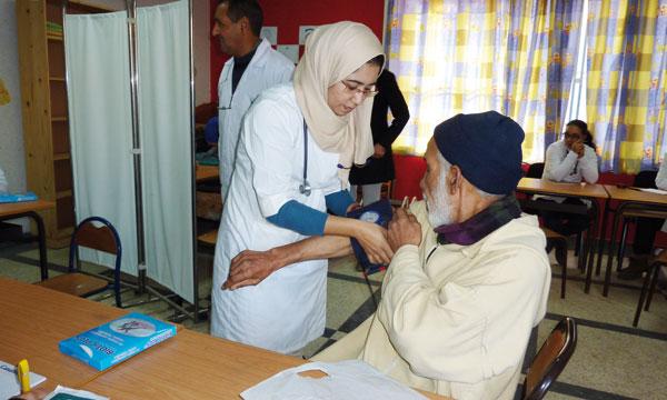 Jerada: caravane médicale pluridisciplinaire et distribution d'équipements en soutien à des AGR