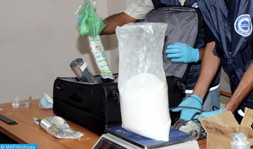 Nador : Arrestation d'un MRE en possession de 10 kg de cocaïne