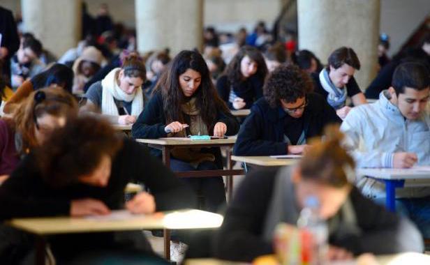 des étudiants marocains