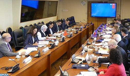 Tenue à Santiago du Chili de la 5ème session des consultations politiques Maroc-Chili