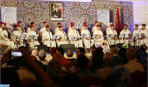 Fès: Clôture du 21ème festival national de l'art du Madih et Sama