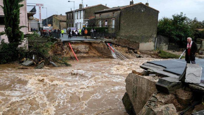 France : Treize morts dans des inondations dans le sud du pays