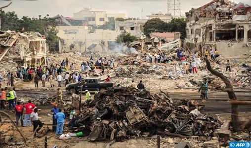 Deux attentats-suicide au sud-ouest de la Somalie: 16 morts et 20 blessés