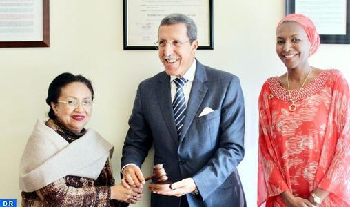 Le Maroc entame la présidence du Groupe Africain auprès des Nations-Unies pour le mois d'octobre