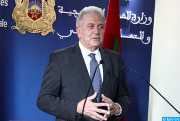 Lutte contre l'émigration clandestine: le Commissaire européen chargé de la migration salue le leadership du Maroc
