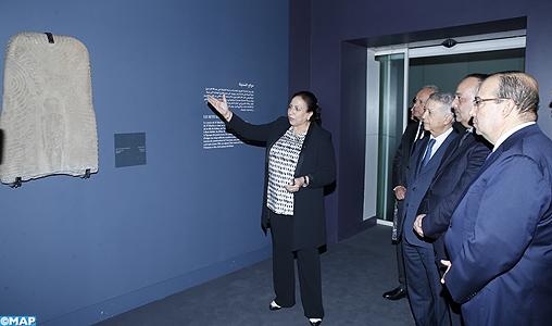 """Salé: inauguration de l'exposition """"Sites éternels, de Bâmiyân à Palmyre, voyage au coeur des sites du patrimoine universel"""""""