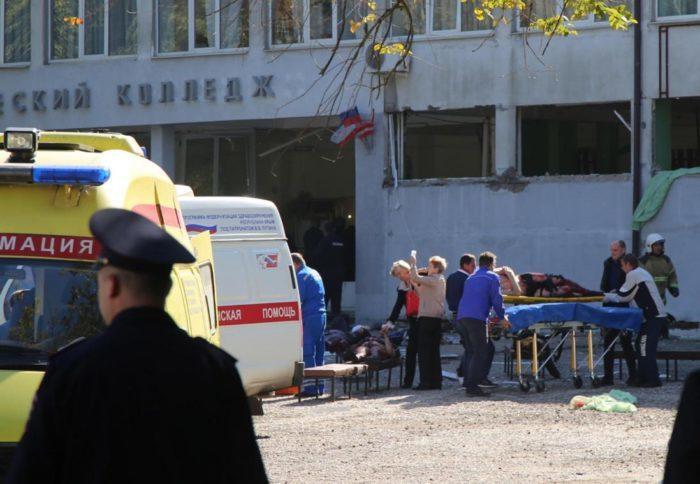 Crimée : 19 morts et plus de 50 blessés dans l'attaque du lycée technique