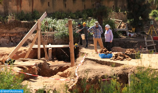 Découverte d'un outil en os d'animaux vieux de 90.000 ans à la grotte de Dar es-Soltan à Rabat