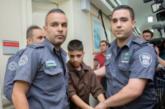 Israël détient 300 enfants palestiniens en prison