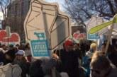 Grande manifestation à Montréal pour dénoncer l'AEUMC