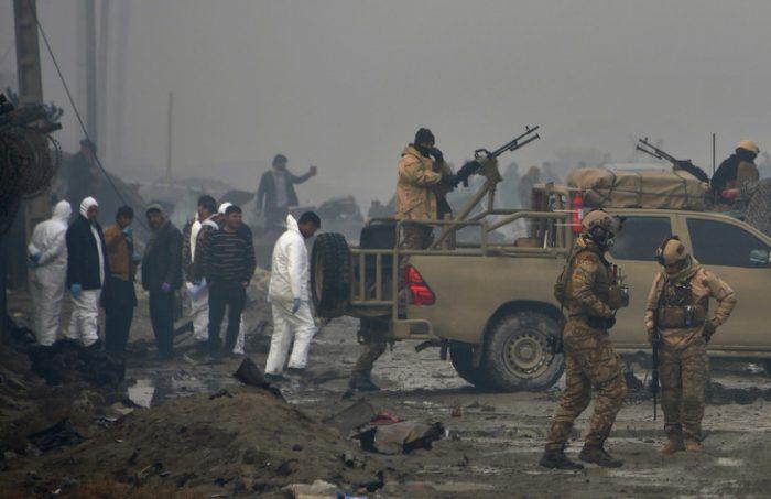 Afghanistan: Au moins 23 morts dans un bombardement américain