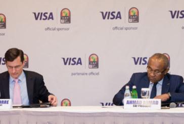 CAN Total 2019: Visa signe un partenariat avec la CAF