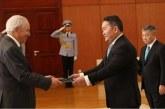 Aziz Mekouar présente ses lettres de créance en Mongolie
