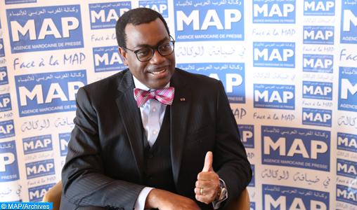 Le Président de la BAD salue l'action de SM le Roi en faveur de l'intégration africaine
