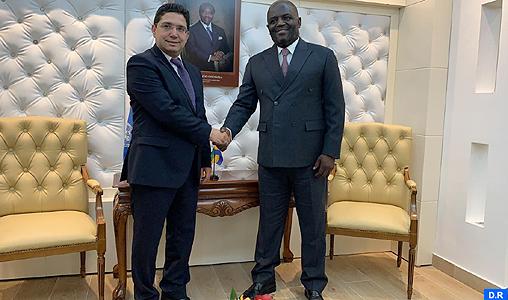 Libreville: Bourita s'entretient avec le ministre des Affaires étrangères du Gabon