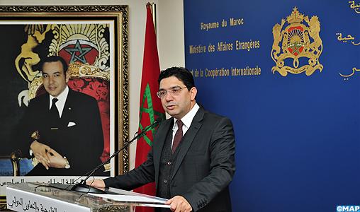 Le Maroc réaffirme l'importance des consultations avec l'Envoyé Personnel de l'ONU