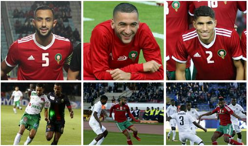 """""""CAF Awards"""" 2018: 6 joueurs marocains nominés pour le trophée du meilleur joueur africain"""