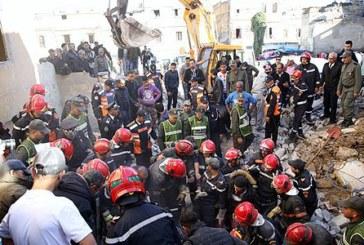 Casablanca: deux morts et un blessé dans l'effondrement de deux immeubles