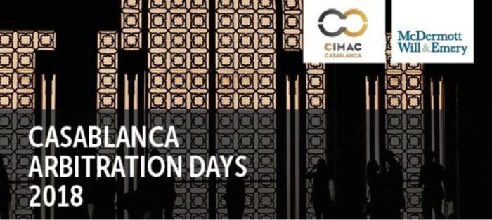Lancement de la 4e édition des Casablanca Arbitration Days les 29 et 30 novembre