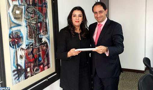 Entretiens à Bogotá sur le renforcement de la coopération économique et commercial entre le Maroc et la Colombie