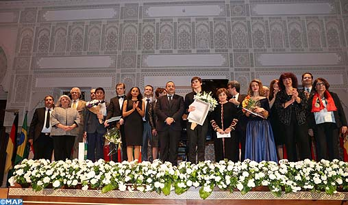 Le roumain Macsim Jeffery remporte le grand prix du 13ème Concours international de piano SAR la Princesse Lalla Meryem