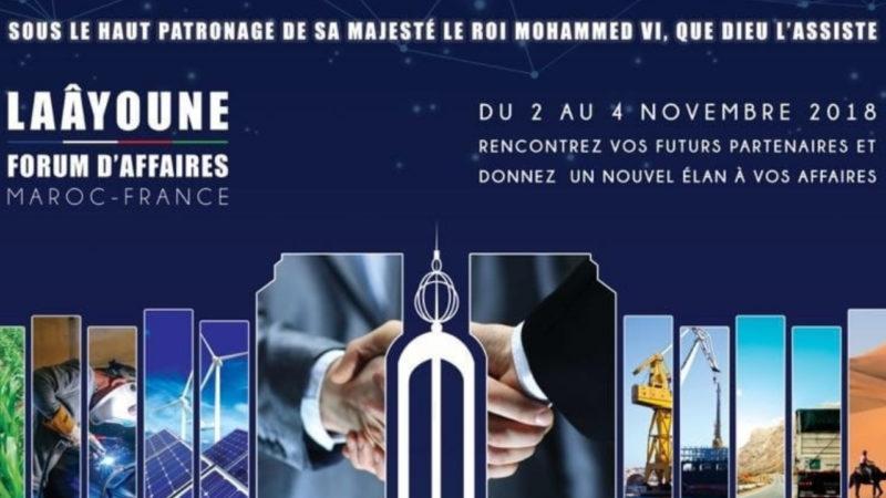 Début à Laâyoune des travaux du Forum d'affaires Maroc-France