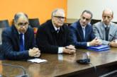 Passation des pouvoirs entre Abdelali Benamour et Driss Guerraoui, nouveau président du Conseil de la concurrence