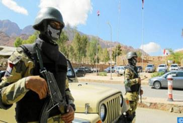 Egypte : Six terroristes tués dans un échange de tirs avec les forces de sécurité dans le sud