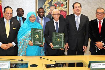 Le Maroc et l'UA signent à Rabat le protocole d'accord conférant au Royaume l'organisation des Jeux Africains 2019