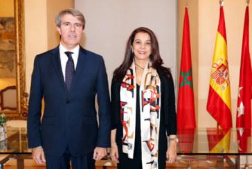 Karima Benyaich s'entretient avec le président de la région de Madrid