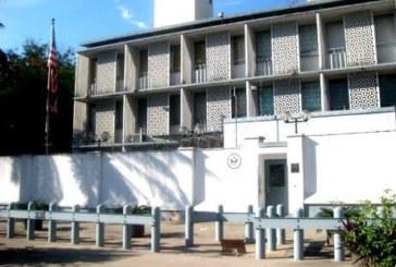 RDC : l'ambassade US à Kinshasa fermée lundi en raison d'une menace terroriste pressentie
