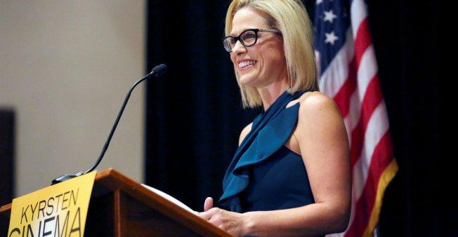 Midterms: Kyrsten Sinema devient la première démocrate de l'Arizona à siéger au Sénat US en 30 ans