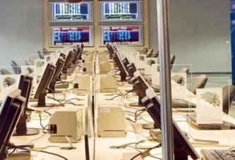 La Bourse de Casablanca en baisse à la mi-séance