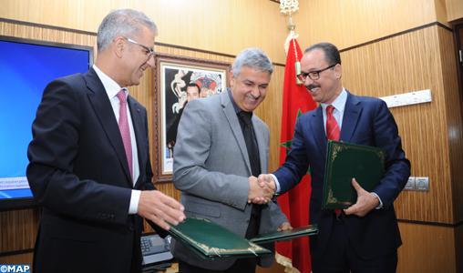 Conventions entre le volet social de la Fondation Hassan II et l'ONCF