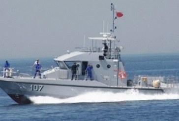 La Marine Royale porte secours à un voilier suédois au large de Bouznika