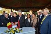 La Princesse Astrid, pose la première pierre de la nouvelle ambassade de Belgique à Rabat