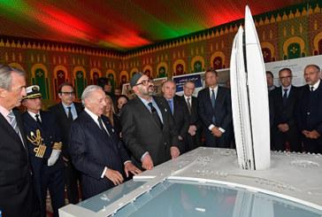 """SM le Roi préside la cérémonie de lancement officiel des travaux de construction de la """"Tour Mohammed VI"""""""