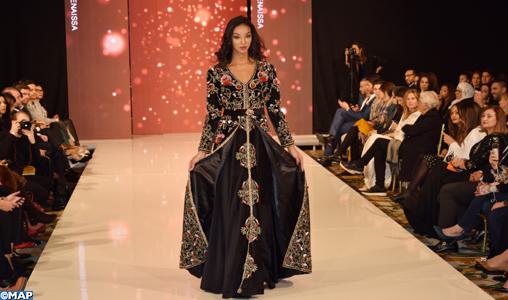 Le Caftan marocain brille de mille feux à Paris, la capitale de la mode