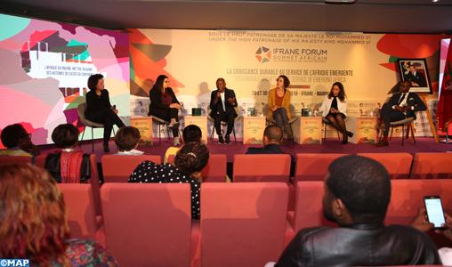 Le Forum d'Ifrane met la lumière sur des expériences réussies de jeunes entrepreneurs africains