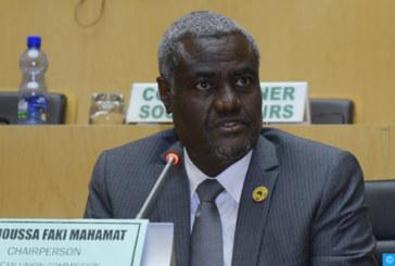Le Président de la Commission de l'UA se «félicite de la volonté» exprimée par SM le Roi relative à la création d'un mécanisme politique conjoint de dialogue et de concertation avec l'Algérie
