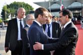 Le Président français quitte le Maroc après une visite de travail