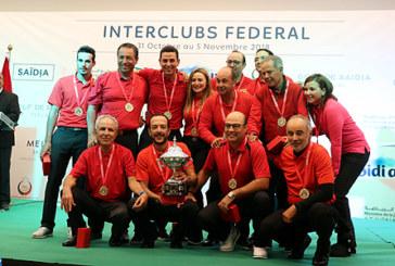 Interclubs fédéral: le Royal Golf Dar Es-Salam s'adjuge la 3è édition
