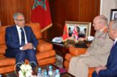 Loudyi s'entretient avec le Haut conseiller à la Défense britannique chargé de la région MENA