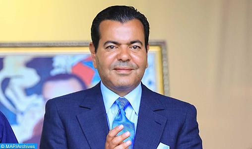 Rabat: SAR le Prince Moulay Rachid préside la finale de la Coupe du Trône de football