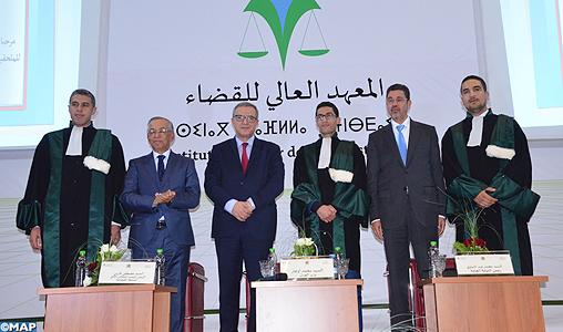 Aujjar souligne le rôle des jeunes dans la mise en œuvre du chantier de numérisation de la justice