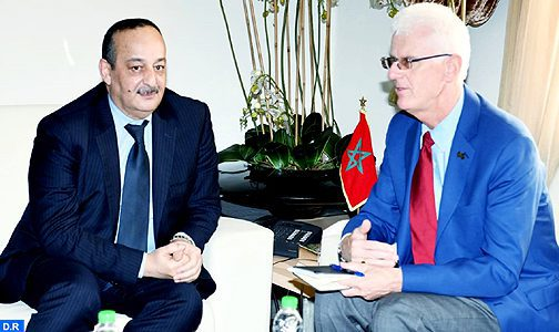 El Aaraj souligne l'importance des relations bilatérales Maroc-USA