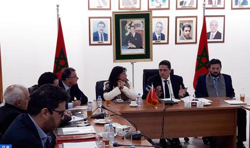 Election d'Omar Moro président de la Fédération des Chambres marocaines de commerce